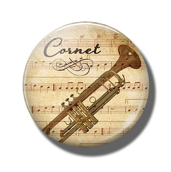Cornet Refrigerator Magnet | Practical Quality and Pure Passion