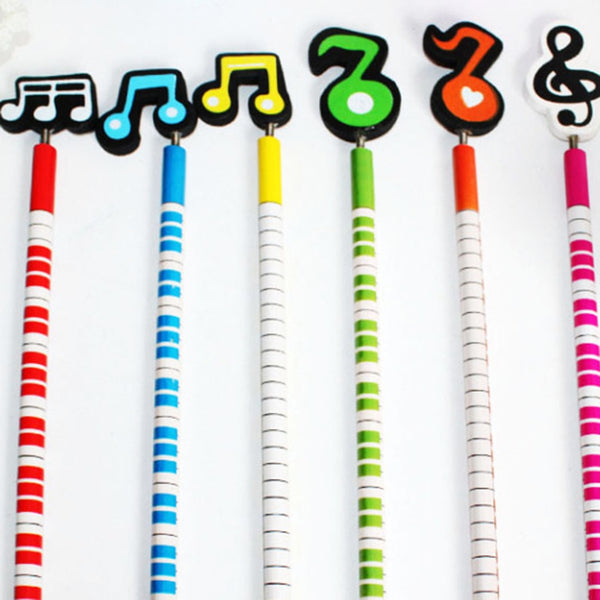 Musical Pencils (Add a touch of color to your student's motivation to learn)