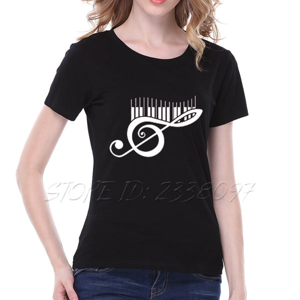 Treble in the Keyboard T-Shirt