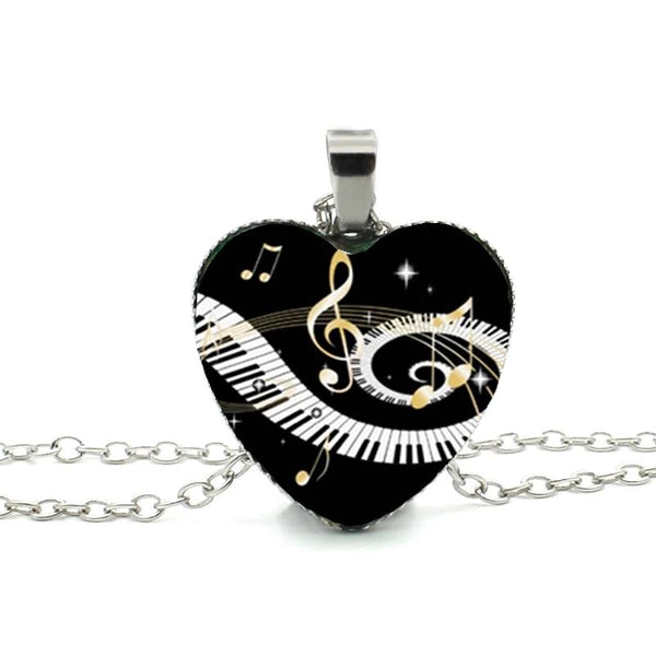 Elegant Piano Pendant - To Bring out Your Talent