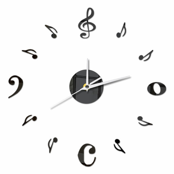 Fermata - Pause in the Silence Wall Clock