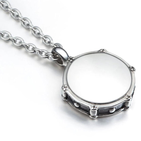 Rockers Jazz Band Drum Chain Necklace