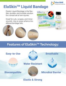 ElaSkin Protection Set Special Edition - Liquid Bandage and Sanitizer Set, 4 Bottles