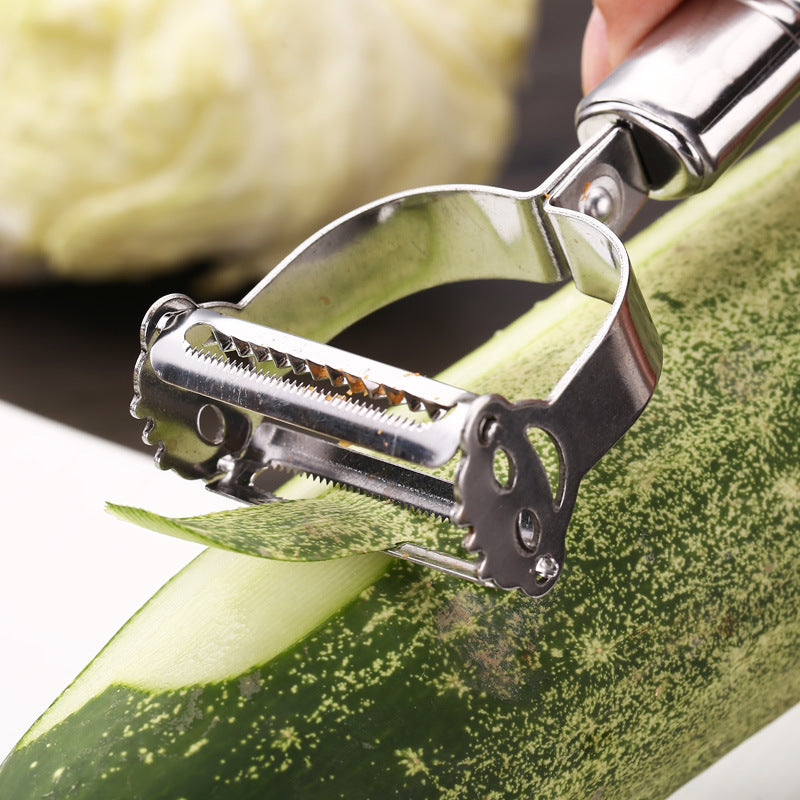 Stainless Steel Fruit & Vegetable Peeler