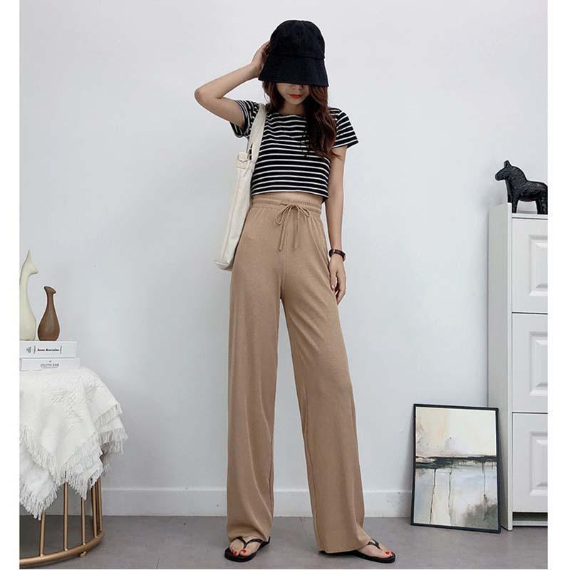 Ice Silk Wide Leg Pants Women🔥Buy 2 Get 20% Off