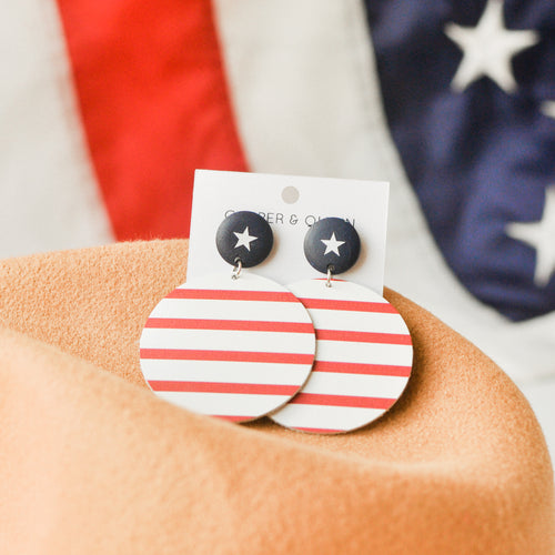 Patriotic Haven Earrings