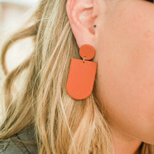 Load image into Gallery viewer, Terracotta Everly Clay Earrings