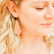 Load image into Gallery viewer, Coral Reptile Elysia Earrings