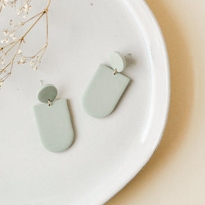 Sage Everly Clay Earrings