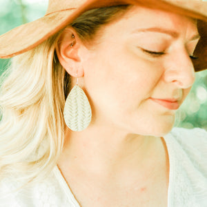 Sage Woven Kingsley Earrings