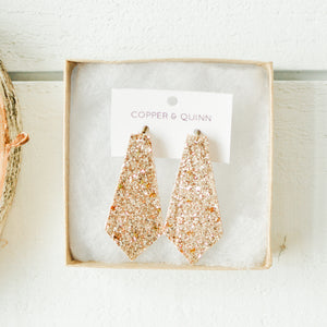 Chunky Glitter Elysia Earrings