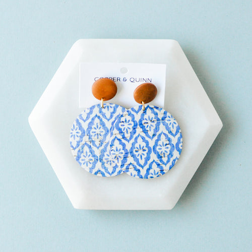 Santorini Cork Haven Earrings