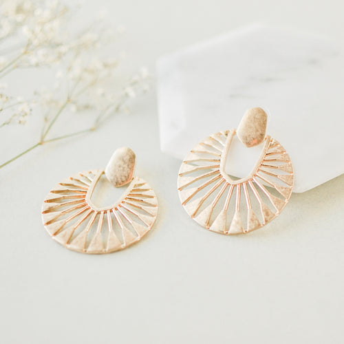 Gold Cora Earrings