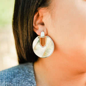 Abalone Shell Skye Earrings
