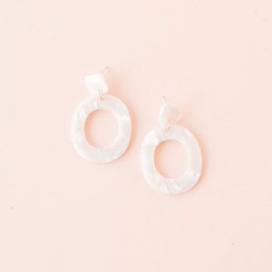 Pearl Tristan Earrings