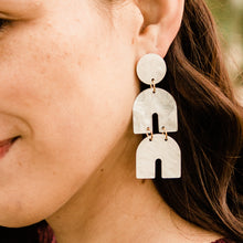Load image into Gallery viewer, Ivory Payton Dangle Earrings