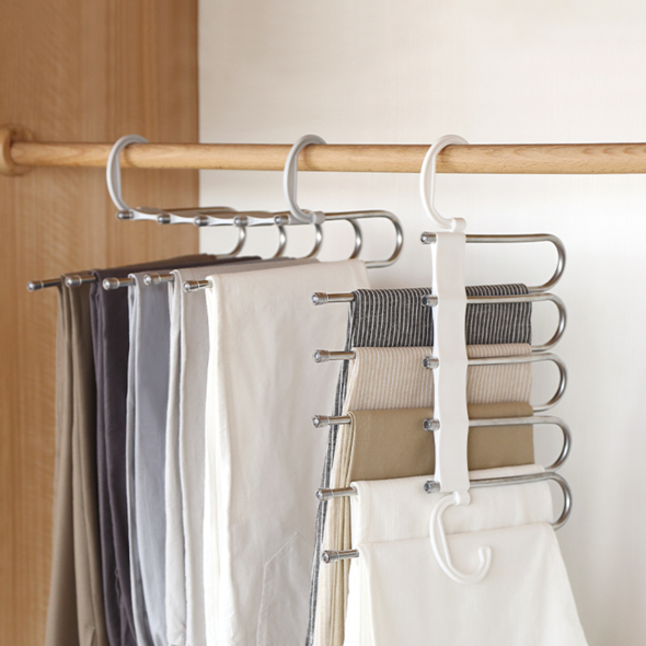 (BUY 5 ONLY 38$ !!)Multi-Functional Pants Rack