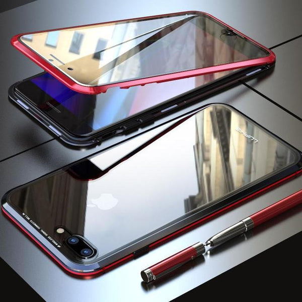 Double Sided Tempered Glass Magnetic Case-Kikiboom online store