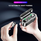 NEW UPGRADED SMART TOUCH 8D STEREO WATERPROOF WIRELESS EARPHONE WITH LED POWER DISPLAY
