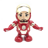 Iron Man Dancing Light Robot