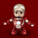 Iron Man Dancing Light Robot - KIKIBOOM Online store