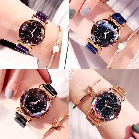 Magnetic Starry Sky Watch (More Cheaper Than Other Store !!! ) - Kikiboom Online Store