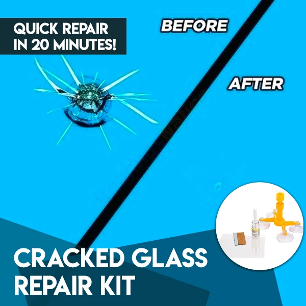 Cracked Glass Repair Kit - Kikiboom Online Store
