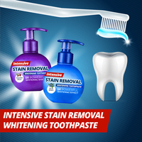 Intensive Stain Removal Whitening Toothpaste - Kikiboom online store