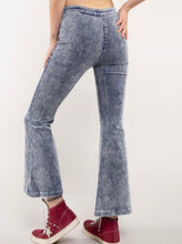 Load image into Gallery viewer, pocketless corduroy pants grey side zipper and button
