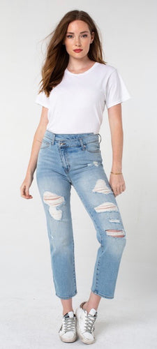 kendall and kylie distressed jean