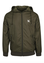 Load image into Gallery viewer, NUEVE COPENHAGEN WINDBREAKER - GREEN