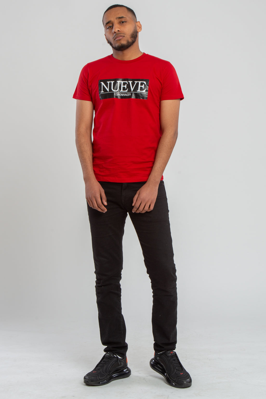 NUEVE COPENHAGEN RED T-SHIRT