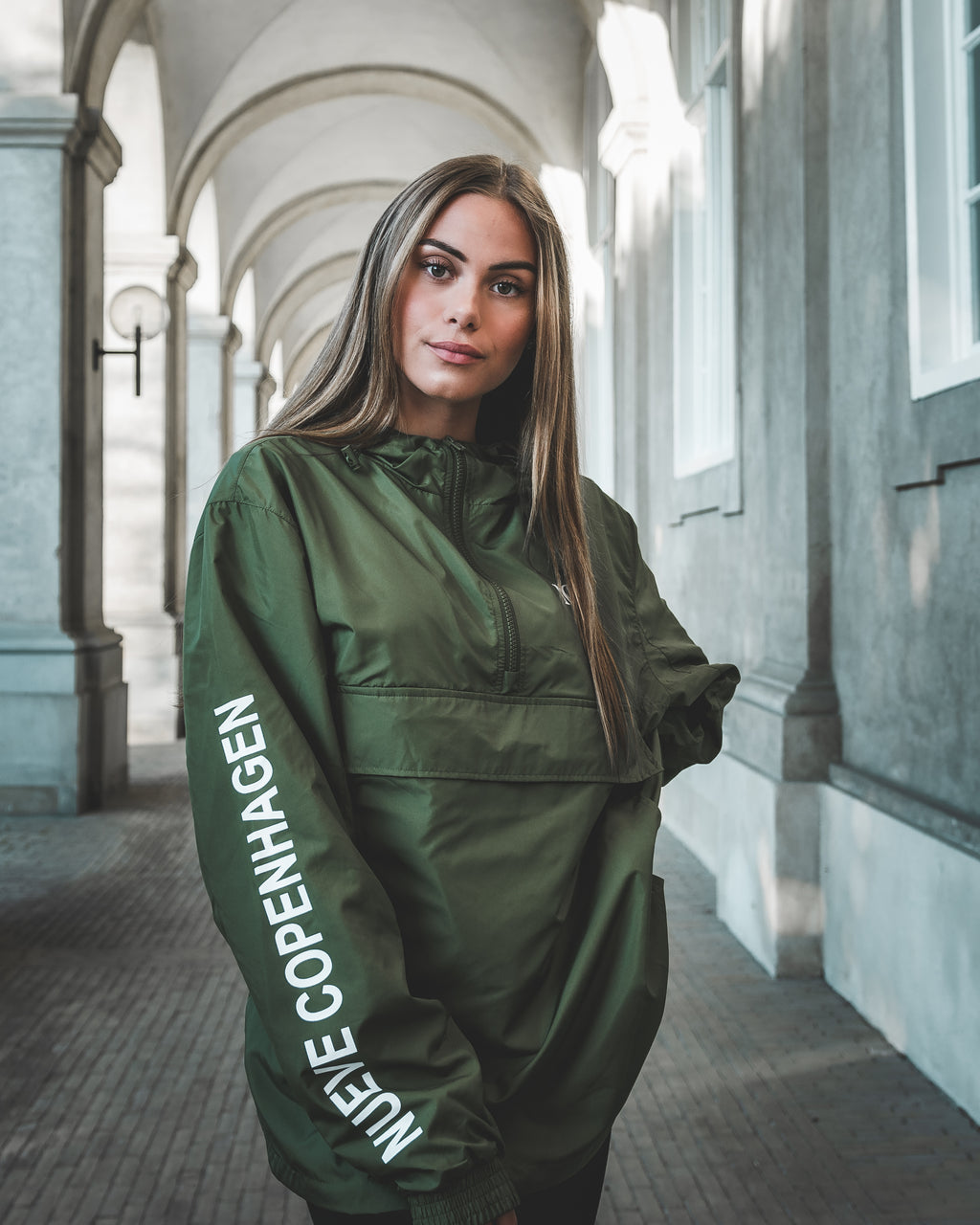 NUEVE COPENHAGEN PULL OVER - GREEN