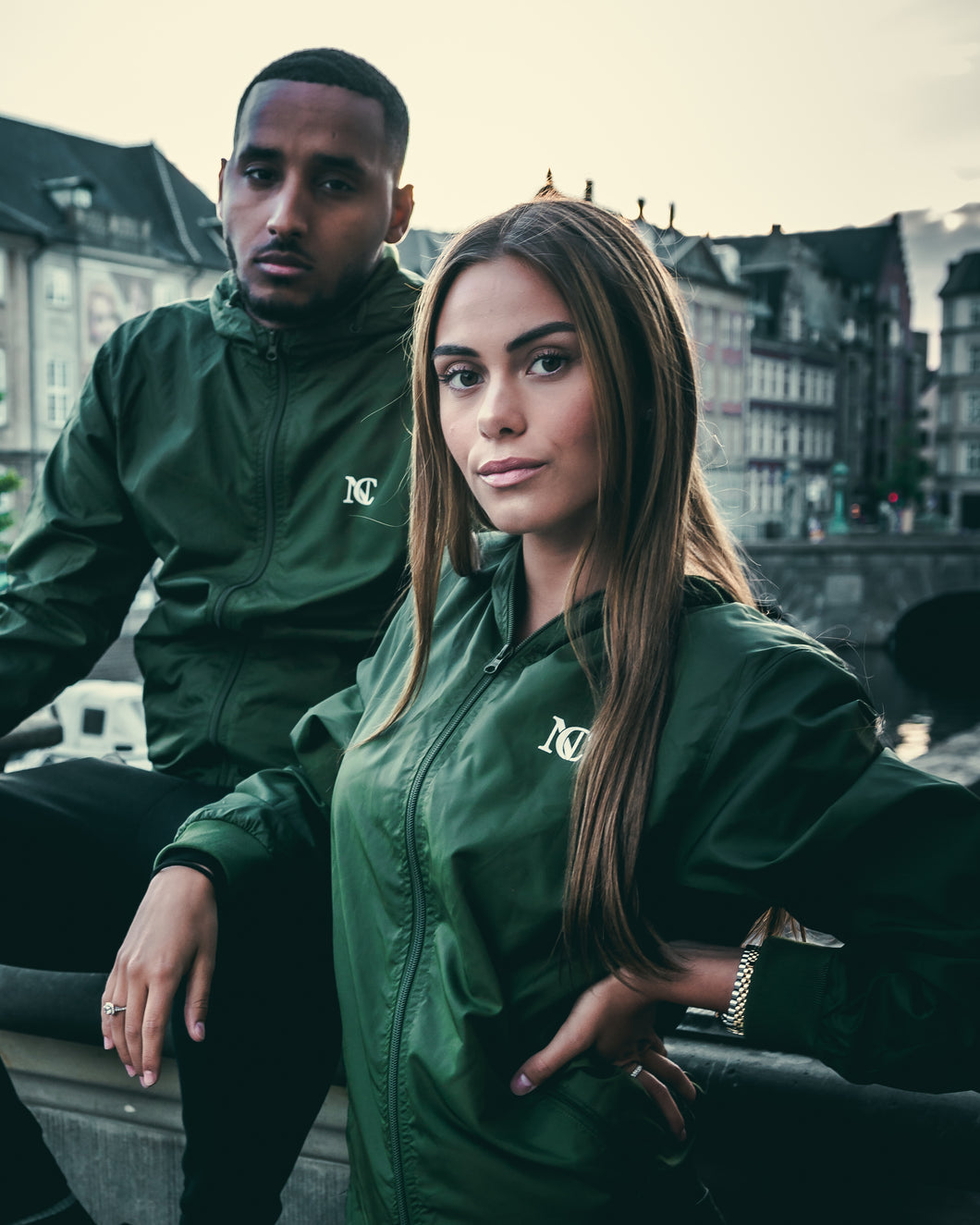 NUEVE COPENHAGEN WINDBREAKER - GREEN