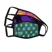Dye Sublimated 3-Layer Face Mask