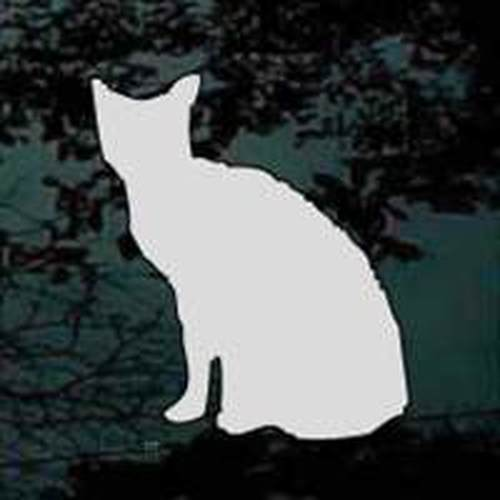 Zombie Cat 01 Vinyl Decal Sticker
