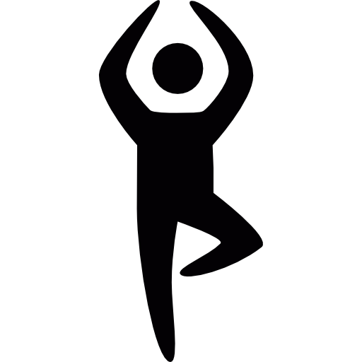 Yoga Position Sticker Decal