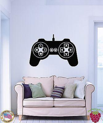 Wall Stickers Vinyl Decal Controller Joysticks Video Games XBox