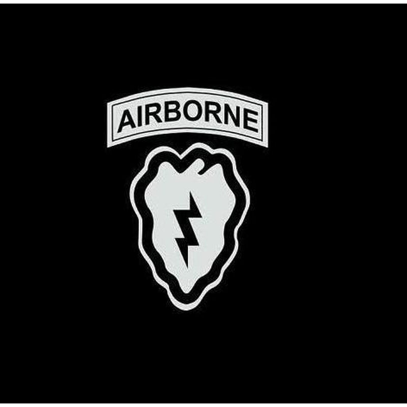 25th Infantry airborne Military Window Decal Stickers