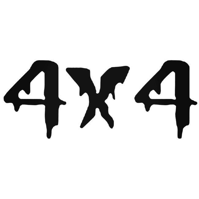 4x4 Off Road 13 Decal Sticker