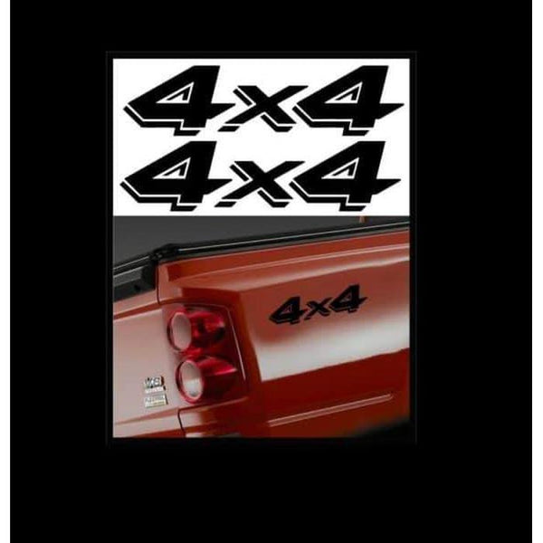 4X4 Pair A1 Sticker Set of 2 – Ford Ford Chevy Dodge Toyota – 4×4 Decals
