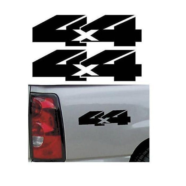 4X4 Pair A3 Sticker Set of 2 – Ford Ford Chevy Dodge Toyota – 4×4 Decals