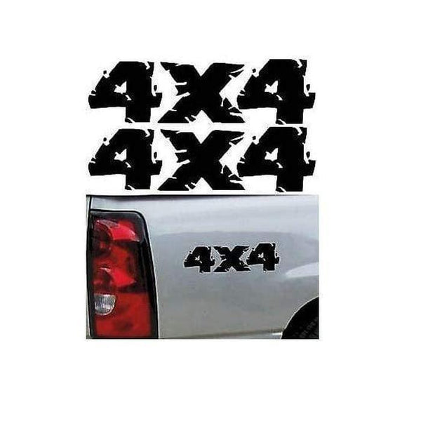 GMC Toyota Chevy Off Road Decals for Ford Pair of 4x4 Stickers Dodge