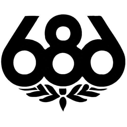 686 Skateboards Decal Sticker
