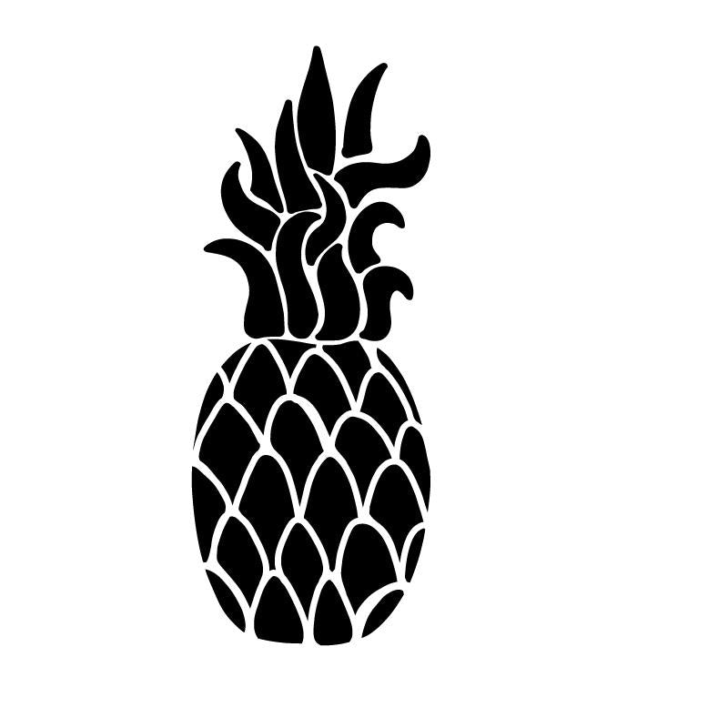 Pineapple Swirl Decal Sticker