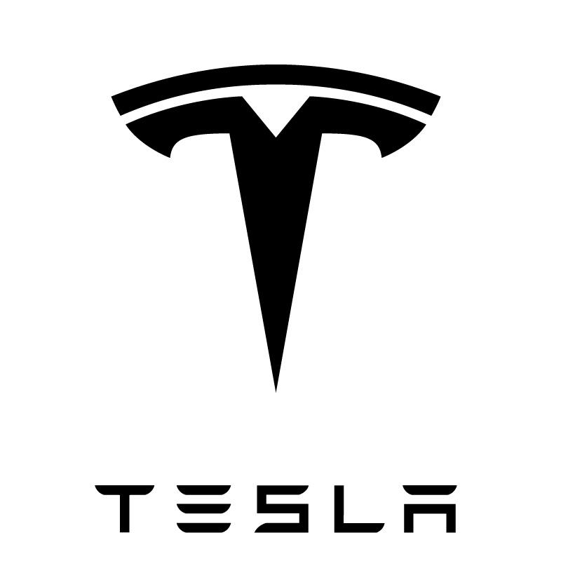 Tesla Logo Decal Sticker