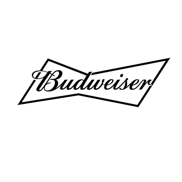 Budweiser Logo Decal Sticker