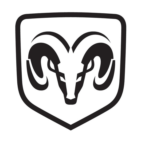 Dodge Ram Official Logo Decal Sticker