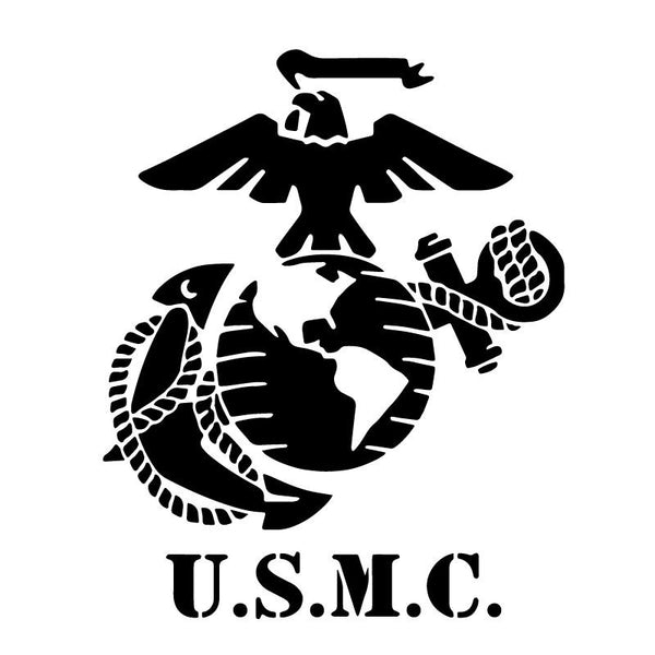 USMC Standard Logo Symbol Marines Decal Sticker