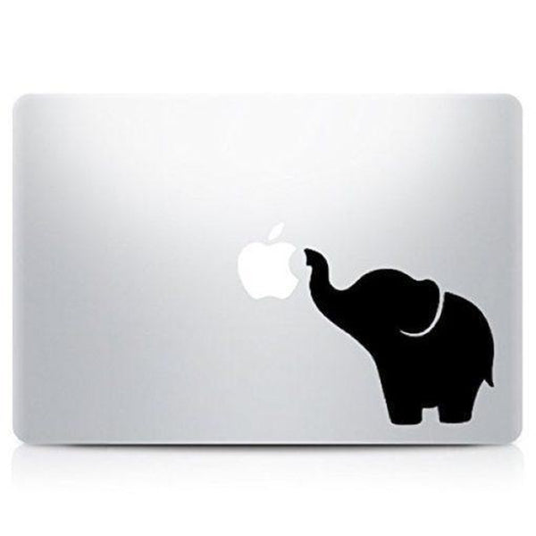 Cute Elephant Laptop Vinyl Decal Sticker